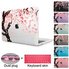 """Cherry blossoms Print Crystal Hard case for Macbook Air Pro Retina 11 12 13 15"""""""