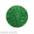 Glitter Glamour Holographic Loose Glitter Mean Green Shimmer Powder