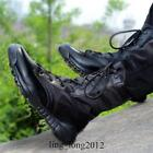 Outdoor Mens Ankle Boots Mountaineering Tactical Lace Up Military High Top Vogue