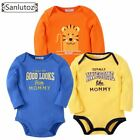 Sanlutoz Baby Rompers Set Newborn Clothes Baby Clothing Boys Girls Brand Cotton