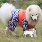 Waterproof Golden Retriever Big Dog Clothes Winter Large Jumpsuit Thicken Warm H