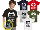 Bendy and The Ink Machine Animation Horror Game Inspired Kids Adult T-Shirt >>