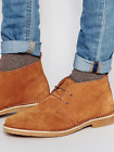 Mens Jack Jones Gobi Desert Boot Tan Brown Suede Leather Boots new boxed