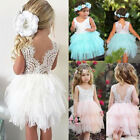 Kyпить US Toddler Kid Baby Girl Lace Tulle Party Pageant Bridesmaid Formal Tutu Dress T на еВаy.соm