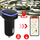 locator on iphone - Car GPS Tracker Locator Real Time Tracking Device Dual USB Car Charger Adapter