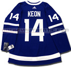DAVE KEON TORONTO MAPLE LEAFS HOME AUTHENTIC PRO ADIDAS NHL JERSEY
