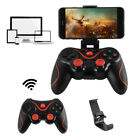 Wireless Bluetooth Gamepad Gaming Controller Joystick with Phone Holder Mount