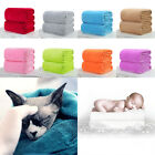 Kids Soft Warm Carpet Micro Plush Fleece Blanket Rug Blanket