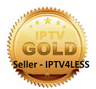 IPTV GOLD SELECT 1 TO 12 MONTHS -ALL INCLUSIVE PACKAGE, MORE CHANNELS - LOT