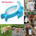 Piqapoo Pet Dog Tail Holder Poo Pack Clip Waste Picker S L With 20pcs Poop Bags
