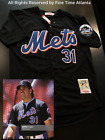 NEW Mike Piazza New York Mets Men's 1998-2012 Style Black Alternate Retro Jersey on Ebay