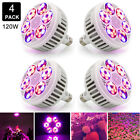 120W LED Grow Light Bulb Lamp for Hydroponic Plant Growing Bloom Full Spectrum