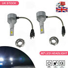 50W Car H7 H1 H4 LED Bulbs Headlight Headlamp Driving Fog Beam Light UK