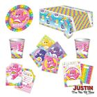 CARE BEARS Happy Birthday Party Supplies Tableware Decorations Balloons Banners