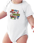 Infant creeper bodysuit One Piece t-shirt My First Daytona Beach T-Shirt k-685