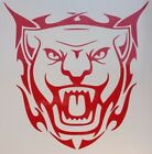 Tribal Jaguar  Vinyl Decal Graphic In Choice Of 54 Colours And 4 Sizes