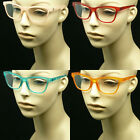 Bifocal reading glasses lens power retro vintage style spring hinge men women