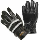Reflective Motorcycle Leather Gloves, Motorbike S-3XL