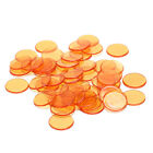 50pcs 1.5cm count bingo chips markers for bingo game plastic poker chips ZP
