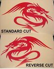 Chinese Dragon Vinyl Decal Graphic In Choice Of 54 Colours And 4 Sizes