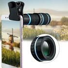 HD 18x Optical Clip on Camera Lens Phone Telescope For Universal Cell Phone US