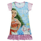 Dress For Girls Moana Cosplay Costume Party Short Sleeve Princess Halloween Xmas