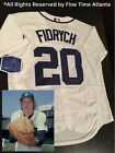 NEW MajesticMark Fidrych Detroit Tigers Home Throwback Jersey Cabrera Gibson