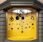 Christmas Baubles Wall Stickers  Xmas Window Stickers  Baubles Decorations  N132