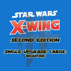 X-Wing Miniatures Game 2.0 2nd Edition - Single Upgrade Cards WEAPONS  BOMBS