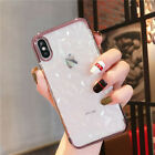 For iPhone 8 7 6s Plus XS Max Luxury Shockproof Silicone Protective Case Cover