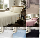 Luxury 100% Brushed Cotton Soft Thermal Flannelette Flat , Fitted Or Sheet Sets