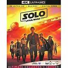 Solo a star wars story  bluray only or 4k only(read description)9/25/18 $17.5 USD on eBay