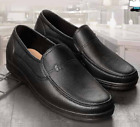 new Men's Dress Work Comfy Cookies Rubber Overshoes Oxfords Loafers rain Shoes
