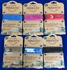 PARAKITO Refillable Mosquito Repellent Wristband-Various Designs-Pick Your Color