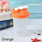 1pc protein shaker  water bottle sports fitness gym multifunction 400m