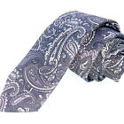 Men's Cotton Tie Shirt Skinny Tie Floral Print Handmade Collection Wedding Gifts