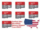 Внешний вид - SanDisk Ultra 256GB 128GB 64GB 32GB 16GB MicroSD Micro SD Flash Memory Card Lot