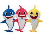 UK Toys Fox Sharks soft Dolls Cartoon Plush Children Baby Animal Toys Cute Gift