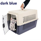 Portable Plastic Transport Crate Cat Dog Air Travel Pet Crate Carrier Cage Box