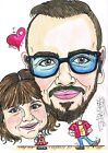 Personalised Hand Drawn Caricature From Your Photos