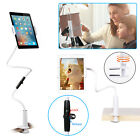 Flexible Long Arm Lazy Desktop Bed Stand Clip Holder for Phone Tablet New