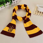 Harry Potter Adult Kids Gryffindor Robe Cloak Costume Cape Tie Scarf Cosplay US