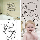 Shower Room Wall Stickers & Bubbles Decals Bathroom Home Art Decor