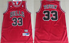 New Men's Chicago Bulls #33 Scottie Pippen Basketball Mesh jersey Red on eBay
