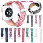 New Glitter Bling New Strap Band iWatch 38mm /42mm For Apple Watch Girl Women