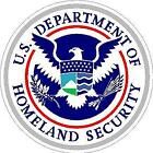 Dept Of Homeland Security Reflective Or Matte Vinyl Decal Sticker Dhs Usa