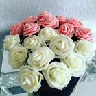 11 Colors 10 Heads 8CM Artificial Rose Flowers  Wedding Bride Bouquet PE Foam Ho