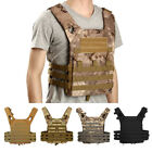 Tactica Vest l Molle Military Army Paintball Lightweight Combat Plate Airsoft US