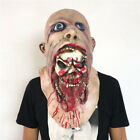 Bloody Zombie / Clown Scary Mask Melting Face Latex Costume Halloween Party Prop