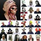 Kyпить Bloody Zombie / Clown Scary Mask Melting Face Latex Costume Halloween Party Prop на еВаy.соm